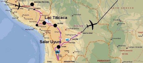 Pérou et Bolivie 2015
