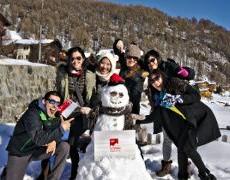 Quand 4 filles de Singapour découvrent la Suisse de nos coeurs