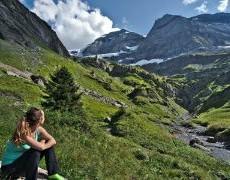 Tour des dents du midi: randonnée en Valais