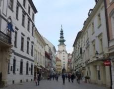 Los Reporteros del Extremo en Bratislava (ERASMUS)